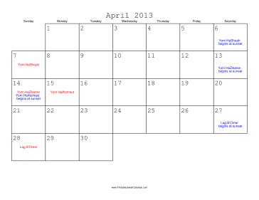 "... March 2014 Calendar With Jewish Holidays/page/2"" – Calendar 2015"